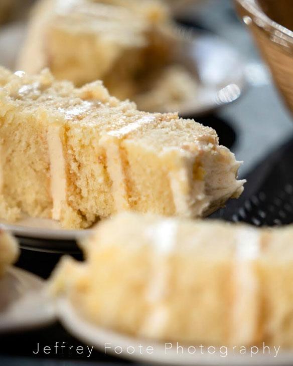 tomas flint photography, cake slice, adk, wedding, cake, buttercream, wedding, receptions, st. Huberts, the fancy cake box